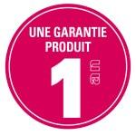 Garantie produit 1 an