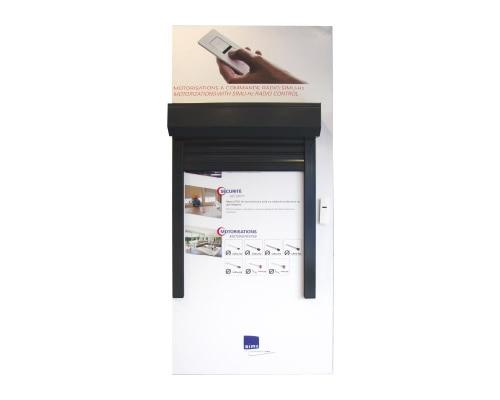 Panneau d'exposition Moteur avec télécommande