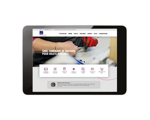 Partagez le lien du site internet SIMU sur votre propre site