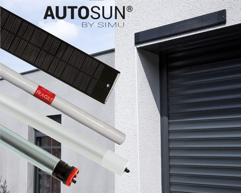 Avec notre solution solaire, vos volets roulants deviennent radio !