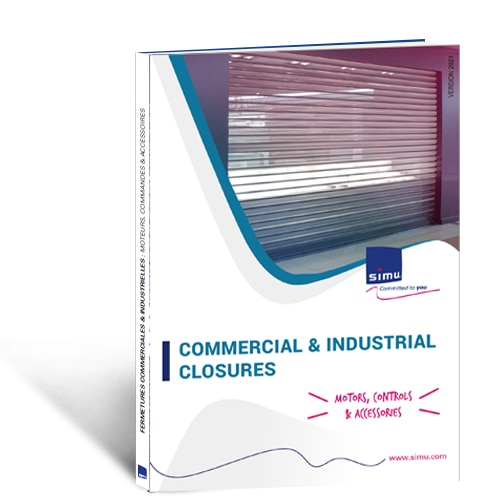 Motors, controls and accessories for Industrial and Commercial closures 2021