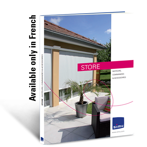 Motors, controls and accessories for Screens and Awnings (French)